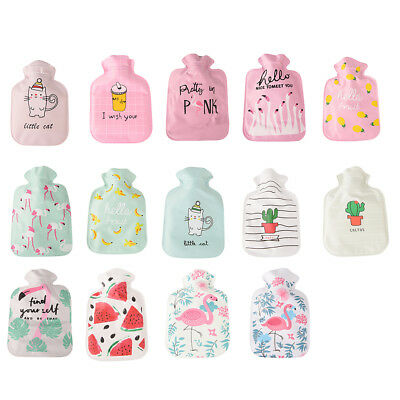 Cartoon cute small hot water bottle water filled with water HU