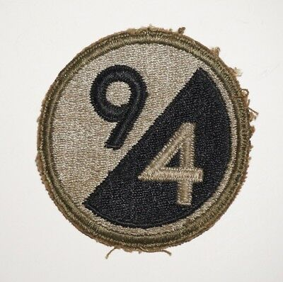 94th Infantry Division Patch WWII US Army P7100