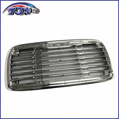 Direct Replacement Chrome Front Grille Freightliner Columbia BugScreen 2000-2008