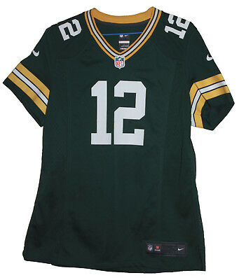 Nfl Green Bay Packers #12 Aaron Rogers Nike Football Jersey (Small)
