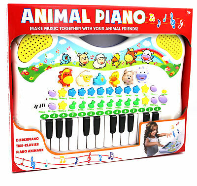 Kinder Keyboard Tierstimmen Musikinstrument Animal Piano Simon 2062 Musikfreunde