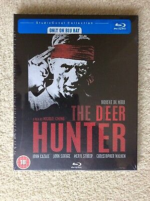 The Deer Hunter (Blu-ray 2009) Studio Canal Collection BRAND NEW, FACTORY SEALED