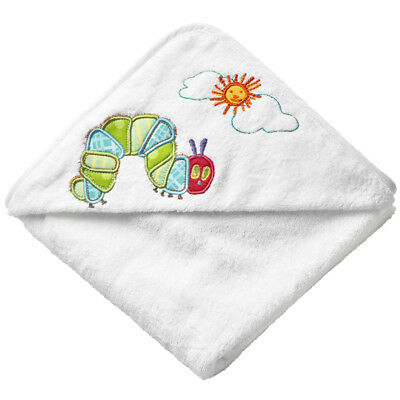 The Very Hungry Caterpillar Baby 100% Cotton Applique Cuddle Robe 75 x 75cm