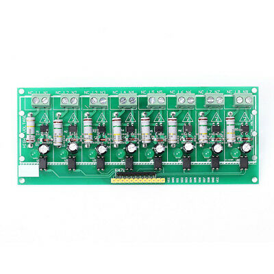 1pcs AC 220V Optocoupler Isolation Voltage Test Board 8 Channel MCU TTL for PLC