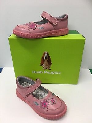 Hush Puppies Lottie Girls Casual Shoes in Rose Pink ( Only £19.90)