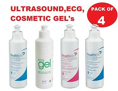 Healthlife Ultrasound Blue Gel Clear ECG IPL Cosmetic Gels Doppler 250ml