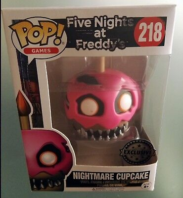 Five Nights at Freddys Figure Nightmare Cupcake Funko Pop Games Exclusive