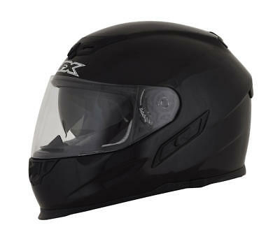 Afx Helm Fx-105 Solid Street Helmet Black Medium