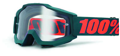 100% Strata SVS Goggles - Youth - Sonnenbrillen - Performance Orange - Clear Lens Einheitsgröße jXQP15XvHL