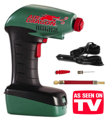 Air Dragon Tire Inflator >> Air Dragon Portable Compressor As Seen On Tv Tire Inflator