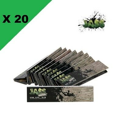 JASS Slim brown lot de 20 carnets de feuilles à rouler longue