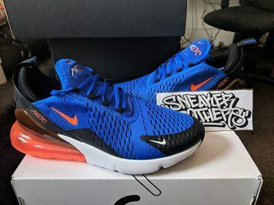 d4a96e52d4 Nike Air Max 270 Racer Blue Black Hyper Crimson Running Men AH8050-401  Knicks