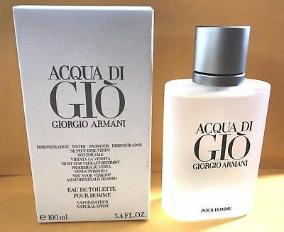 Acqua Di Gio 3.4Oz Men Spray Edt Cologne Giorgio Armani New Authentic