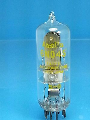 Apollo 6No45 T Spst Vacuum Tube No 45 Second High Voltage B+ Ac Dc Time Delay