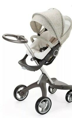 Stokke Xplory Summer Kit Sandy Beige rain cover