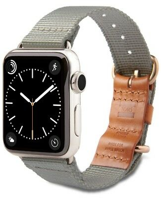 TOMS Apple Watch Band, Gray, 42mm - NEW In Box