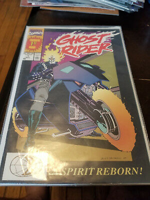 Marvel Comics Ghost Rider #1 Copper Age