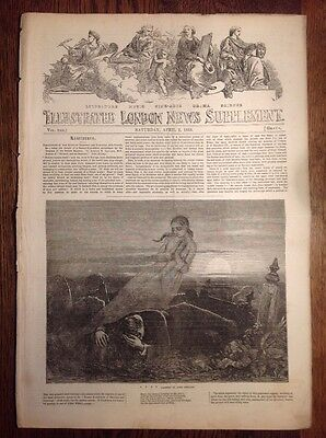 Illustrated London News, supplement, 2 April 1853, WOMENS FASHION