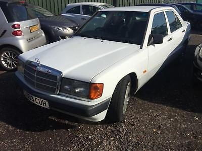 1993 Mercedes-Benz 190 D STARTS+DRIVES SPARES OR REPAIRS