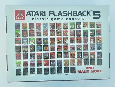 NEW Atari Flashback 5 Classic Game Console 92 Built-In Games