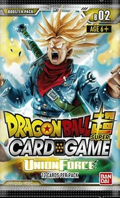 1x Dragon Ball Super TCG - Union Force - Booster Pack - Sealed - Brand New - Fre