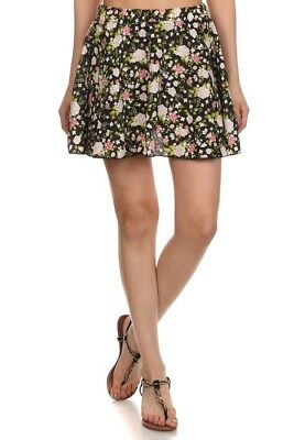 WOMENS WOVEN PRINTED SHORT SKIRTS > (Lot of 30 Shorts)
