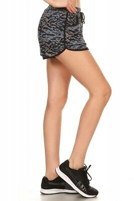 WOMENS POLY BRUSHED TRIBAL PRINT SHORTS WITH WAIST TIE > (Lot of 30 Shorts)