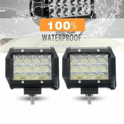 1pc 72W SPOT LED Off road Work Light Lamp 12V-80V car boat Truck Driving UTE ATV