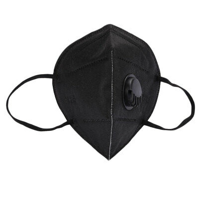 Filter Cloth Black Breathable Comfortable Anti-Dust Mask Face Bike