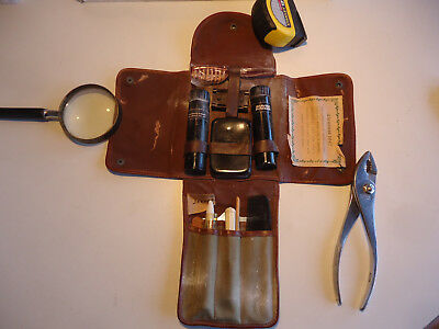 WWII Military Jeepak Christmas 1943 gift Shaving Grooming kit personal gear