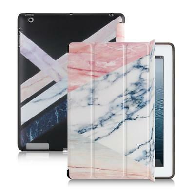 Folding Marble Smart Slim Leather Case Cover Wake Up/Sleep For iPad mini 4 7.9