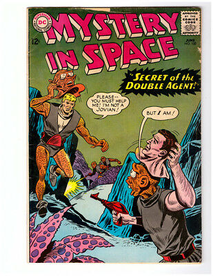 MY GREATEST ADVENTURE #100 in VG condition a 1965 DC Silver Age comic