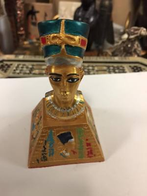 Egyptian Queen Nefertiti Statue Hand Carved  Made in Egypt