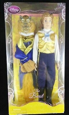 """Disney Store Exclusive """"The Beast"""" 12 inch Doll-New in box!!"""