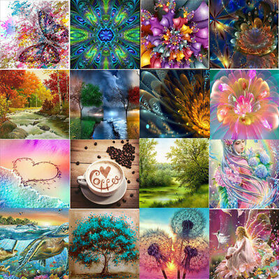 5D Diamond Full Drill Painting Embroidery Cross Stitch Kit DIY Home Decor Crafts