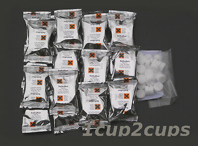 10 Descaling+10 Cleaning tablets for KRUPS coffee machines including AE, XP
