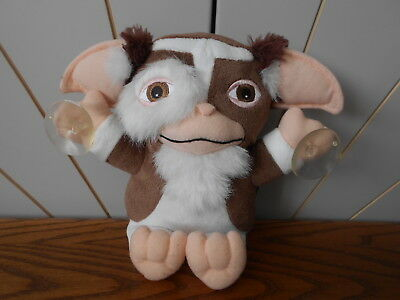 GIZMO THE GREMLIN soft toy/doll, plush window cling suction cups NECA Gremlins