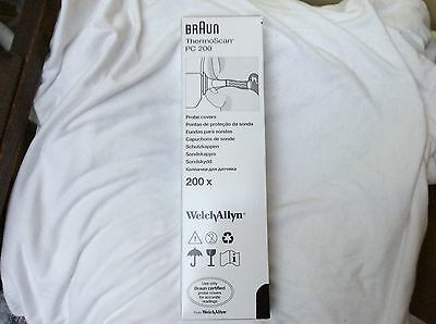 Braun ThermoScan Themometer 200 Probe Covers 10 x 20 New in Box