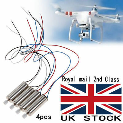 4Pcs CCW / CW Motor Engine Spare Parts For Syma X5 X5C X5C-1 Quadcopter Drone UK