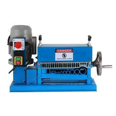 370W Manual & Electric Dual-use Stripping Machine Cable Wire Stripper 220V
