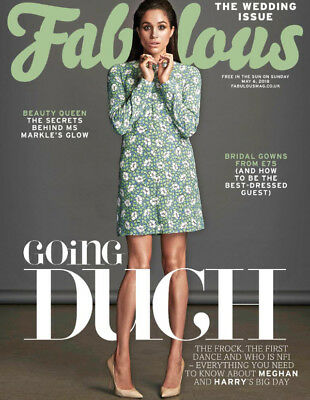 UK Fabulous Magazine May 2018: MEGHAN MARKLE Prince Harry THE ROYAL WEDDING