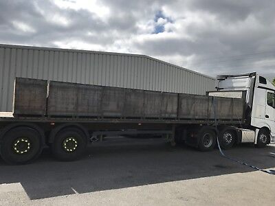 set of 5 parts bin stillage scrap bin steel box (£80+VAT each) 500x500x500