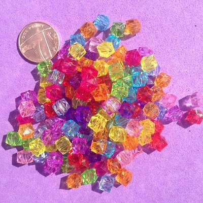 Jewellery making,Pony Bead Key Rings 250 x Mixed Spacer Beads Spacer Craft