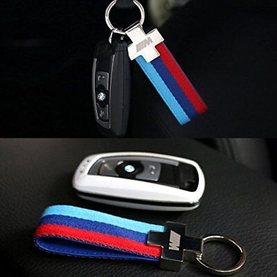 M Tech Color Sports Power Performance Keyring Key Fob Chain For All Series