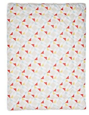 Schardt Embroidery Play Rug Floor Mat Thick blanket 100 x 135 cm, Prism Design