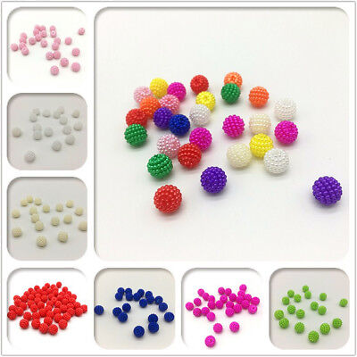 100pcs 10mm Bayberry Beads Round Loose Beads Fit Europe Beads DIY Jewelry Making