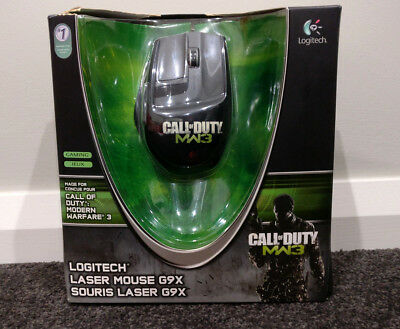 Logitech G9x Laser Gaming Mouse  - Call of Duty : MW3 Edition