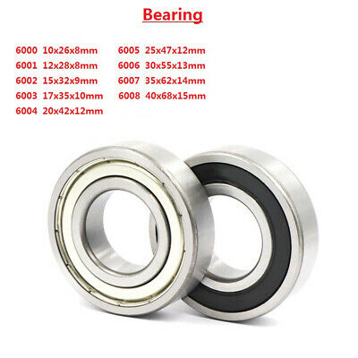 Deep Groove Ball Bearing 6000 6001 6002 6003 6004 6005 6006 6007 6008ZZ/2RS