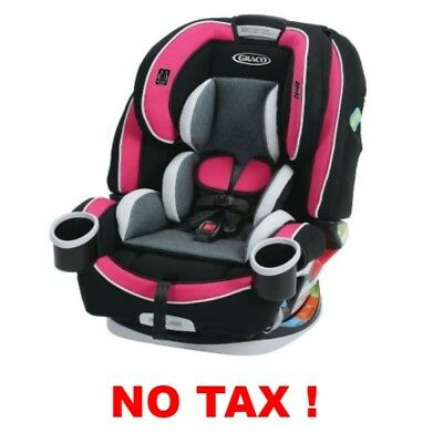 Graco 4Ever All In 1 Convertible Car Seat Booster Safety With Cupholders Azalea