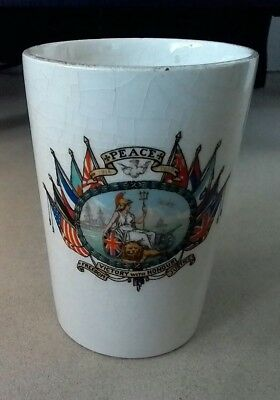 Great European War Peace Celebration Beaker